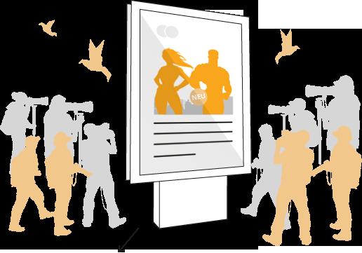 Marketing Leipzig Icon Grafik