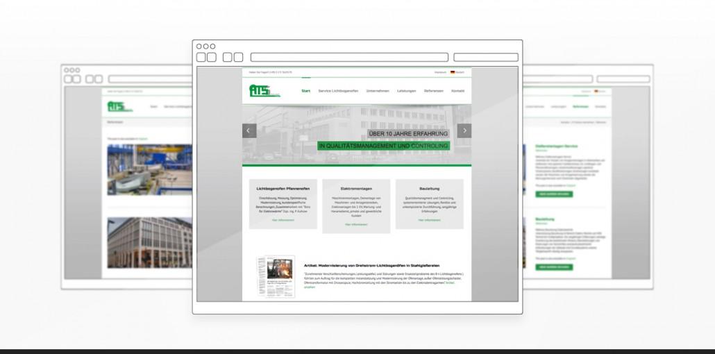 "Referenz ""ATS Sachse"" Webdesign"