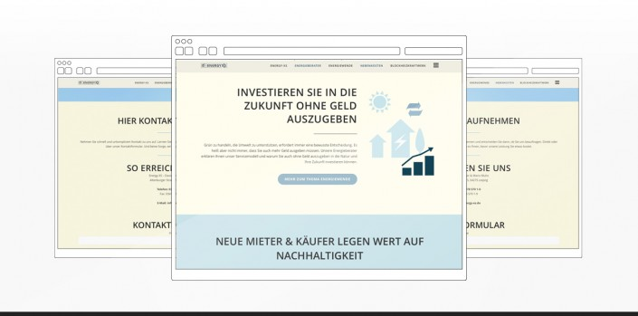 "Referenz ""Energy Xchange"" Webdesign"