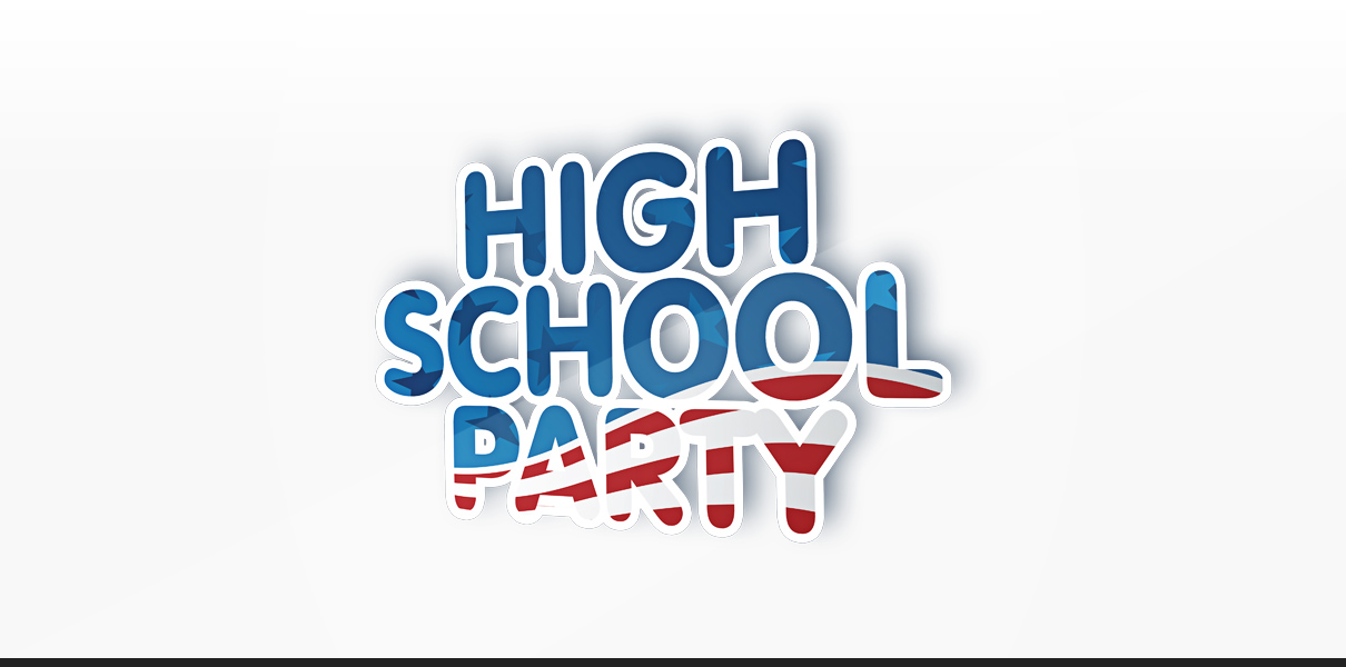 "Statusglow Referenz ""High School Party"" Logodesign"