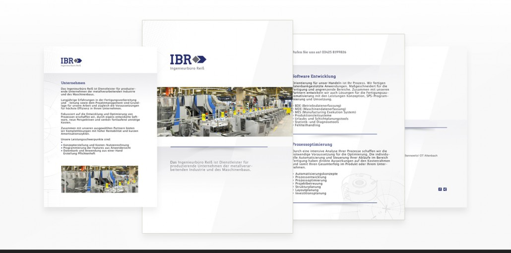 "Referenz ""Ingenieurbüro Reiss"" Corporate Design"