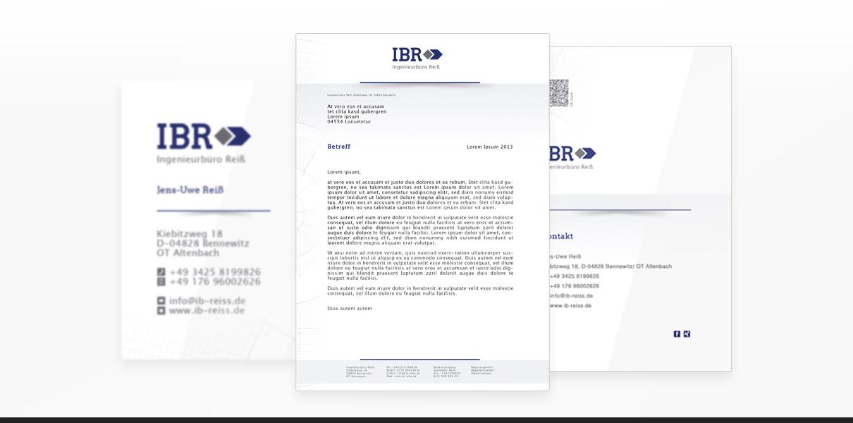 "Referenz ""Ingenieurbüro Reiss"" Corporate Design"