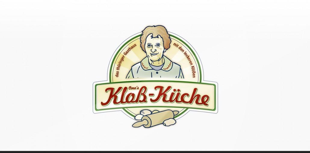 """Statusglow Referenz """"Kloß-Küche"""" Logodesign"""