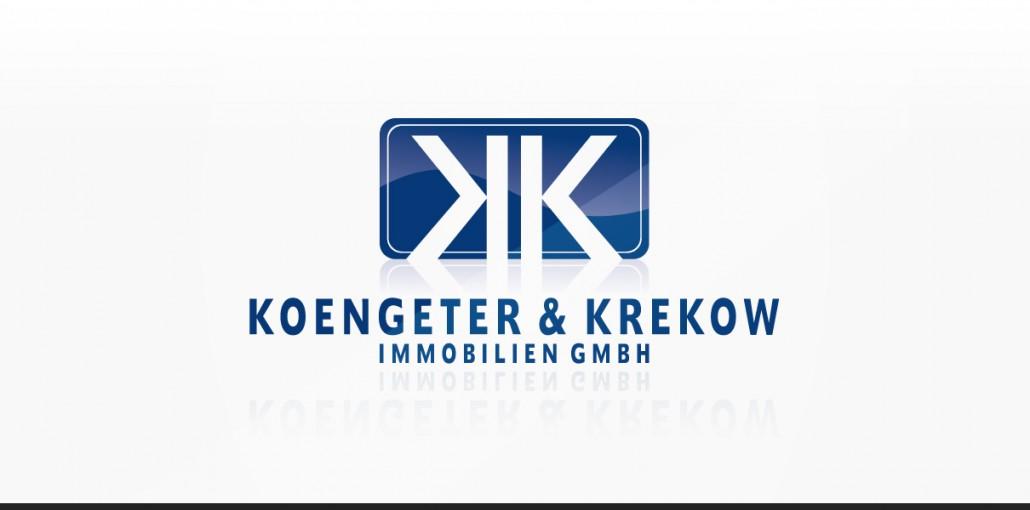 """Referenz """"Koengeter & Krekow Immobilien GmbH"""" Logodesign"""