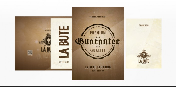 "Referenz ""La Bute"" Grafidesign"