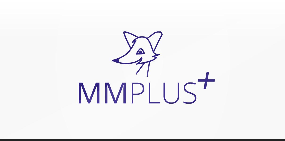 "Referenz ""MMPlus GmbH"" Logodesign"