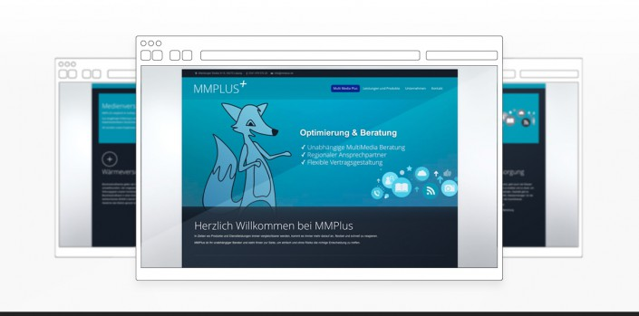 "Referenz ""MMPlus GmbH"" Webdesign"