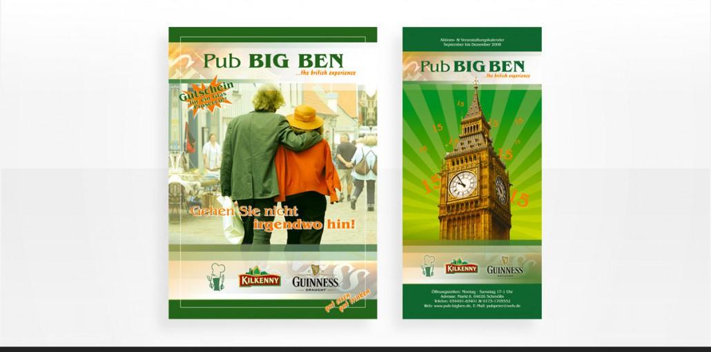 "Referenz ""Big Ben"" Grafikdesign, Marketing"