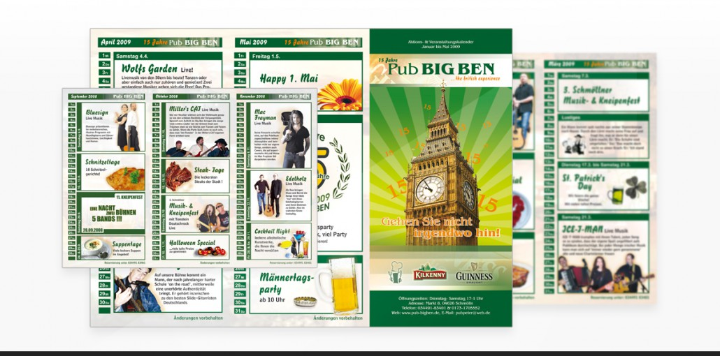 "Referenz ""Big Ben"" Grafikdesign, Marketing"