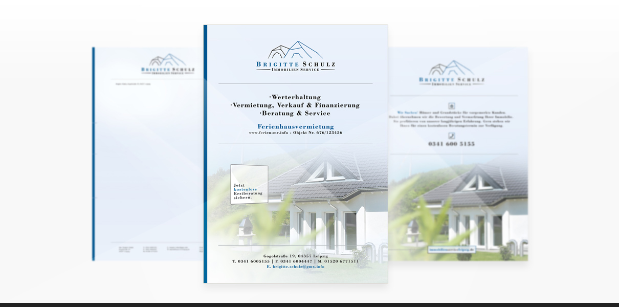 "Referenz ""Schulz Immobilienservice"" Corporate Design"